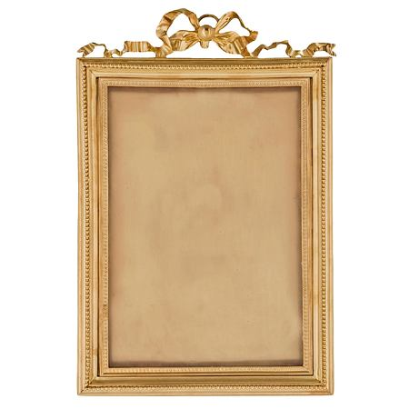 A French 19th century Louis XVI st. ormolu frame