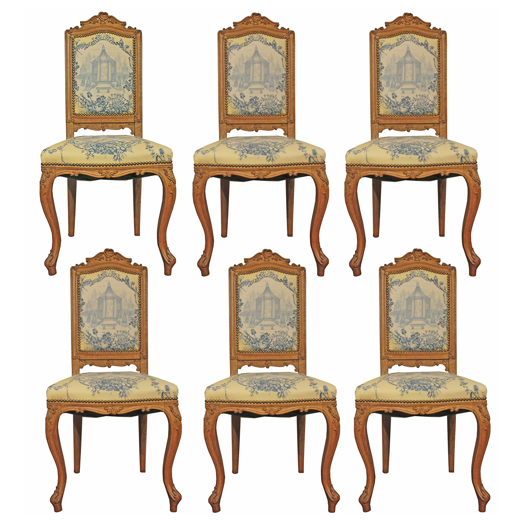 Remarkable A Set Of Six French 19Th Century Louis Xvi St Carved Beachwood Dining Chairs Gamerscity Chair Design For Home Gamerscityorg