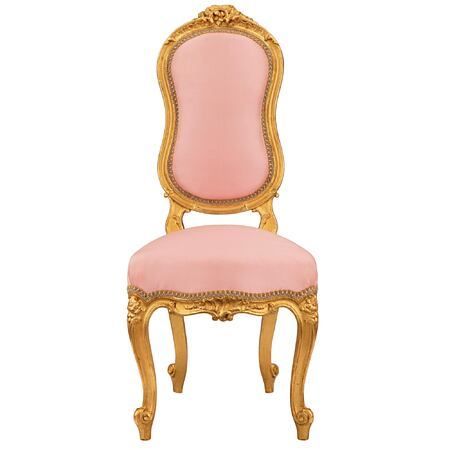 A French 19th century Louis XV st. child's chair