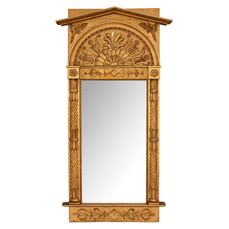 A French 19th century Neo-Classical giltwood mirror